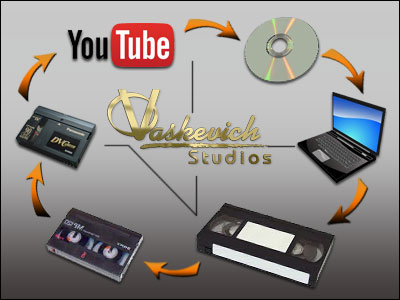 In Studio Digital And Analog Transfer Services