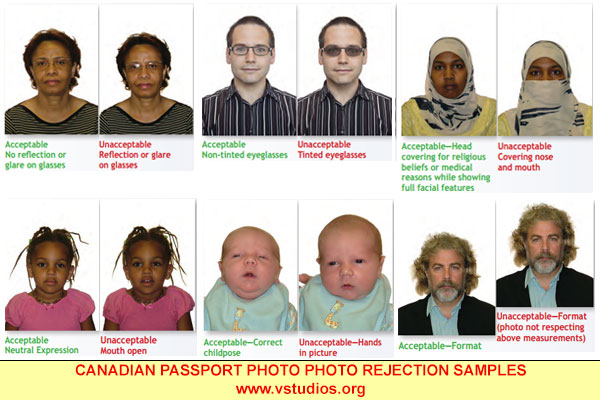 csanadian passport application eye colour