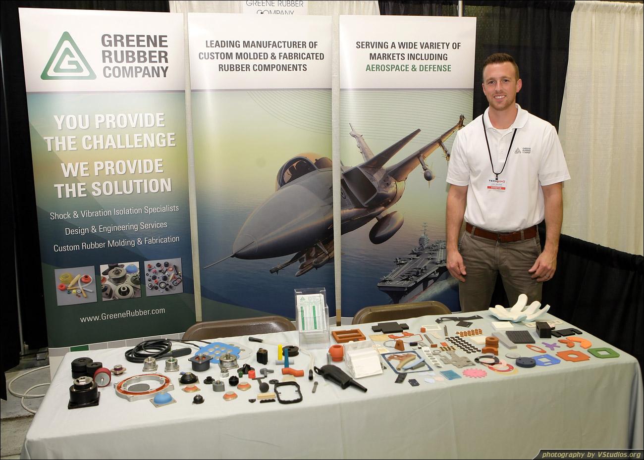 Greene Rubber Company at Florida TechXpo 2015