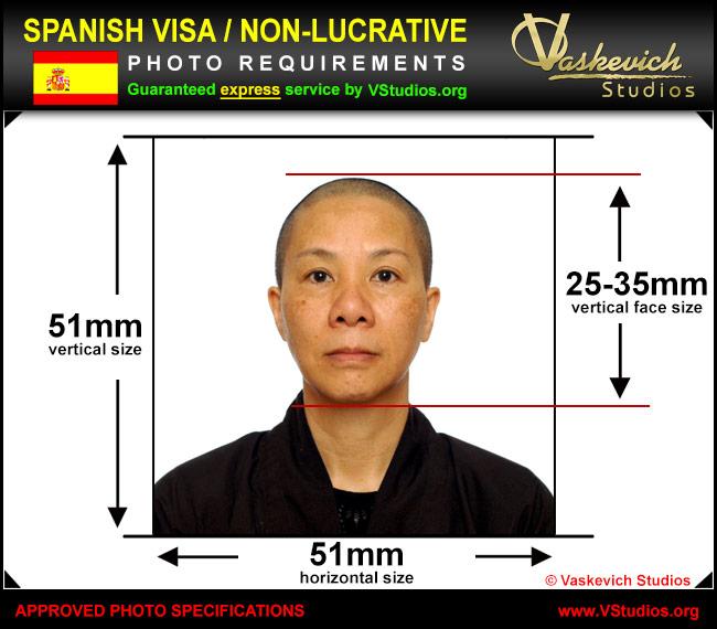 spanish-visa-picture-service