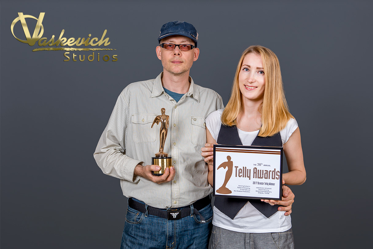 Vaskevich Studios is to receive a 38th Annual Video Production Telly Award